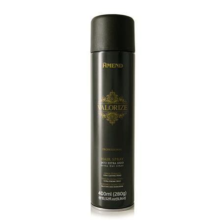 Amend Hair Spray Valorize Fixação Ultra Forte Extra Seco 400mL