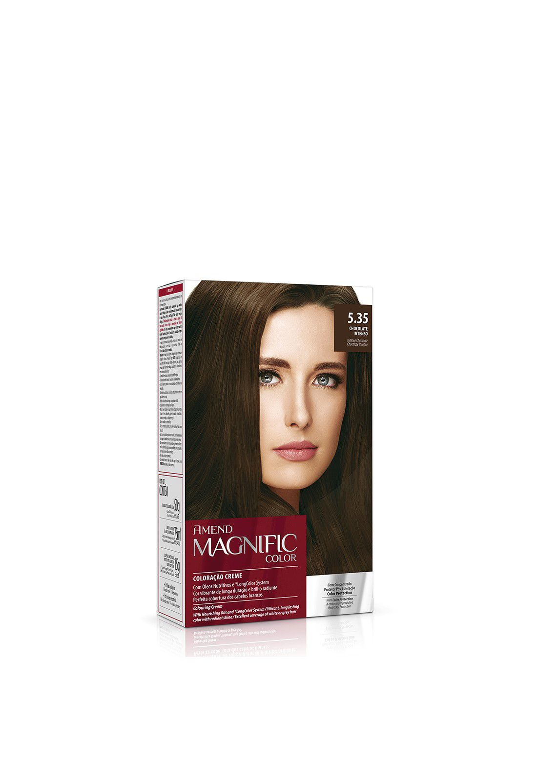 Amend Kit Coloração Magnific Color 5.35 Chocolate Intenso