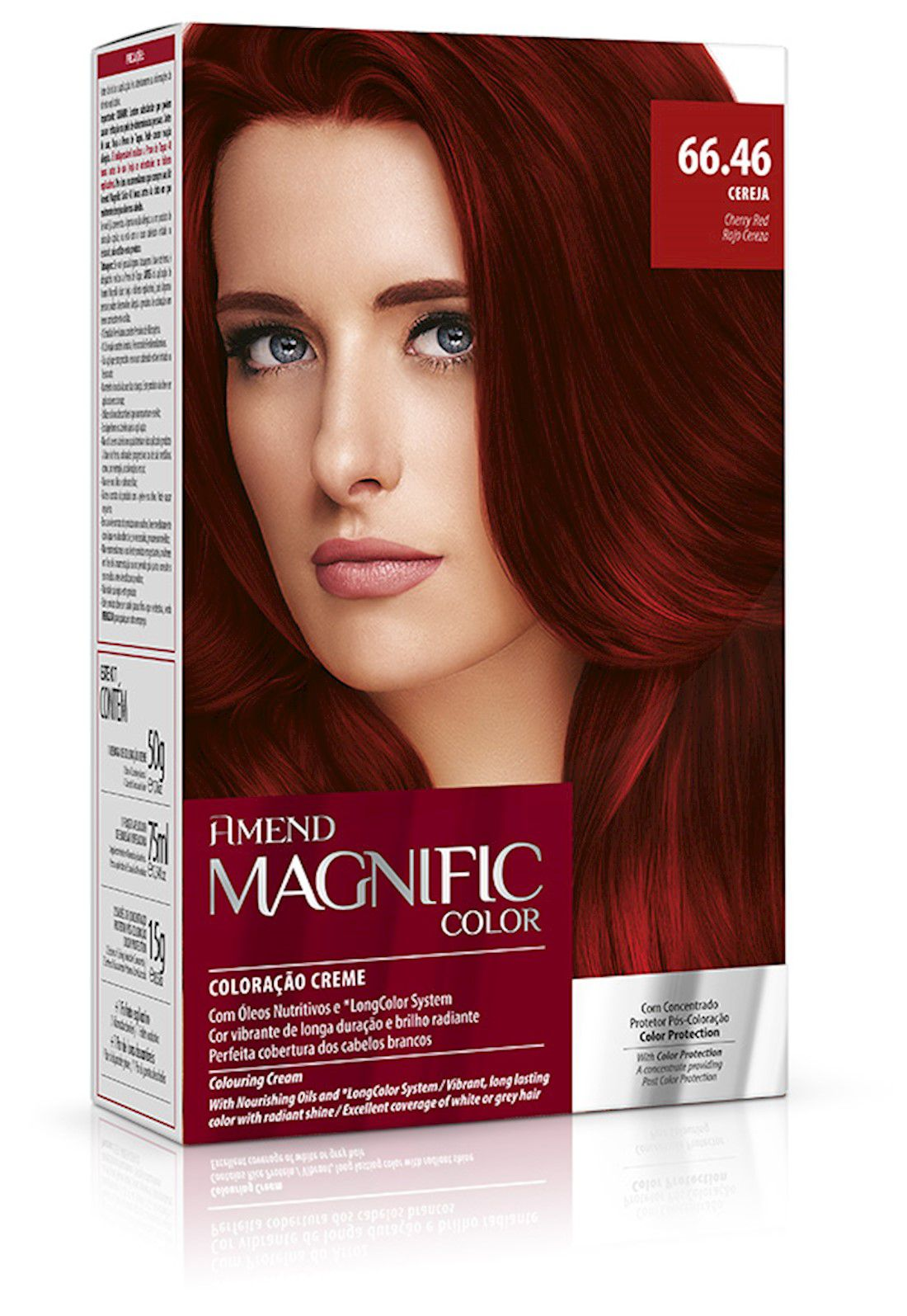 Amend Kit Coloração Magnific Color 66.46 Cereja