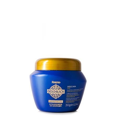 Amend Máscara Intensificadora do Efeito Liso Definitive Liss Gold Black 350g