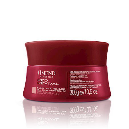 Amend Máscara Treatment Expertise Red Revival 300g