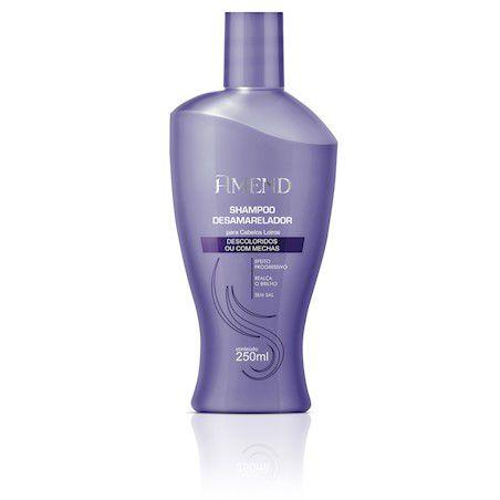 Amend Shampoo Desamarelador Descoloridos ou com Mechas 250mL