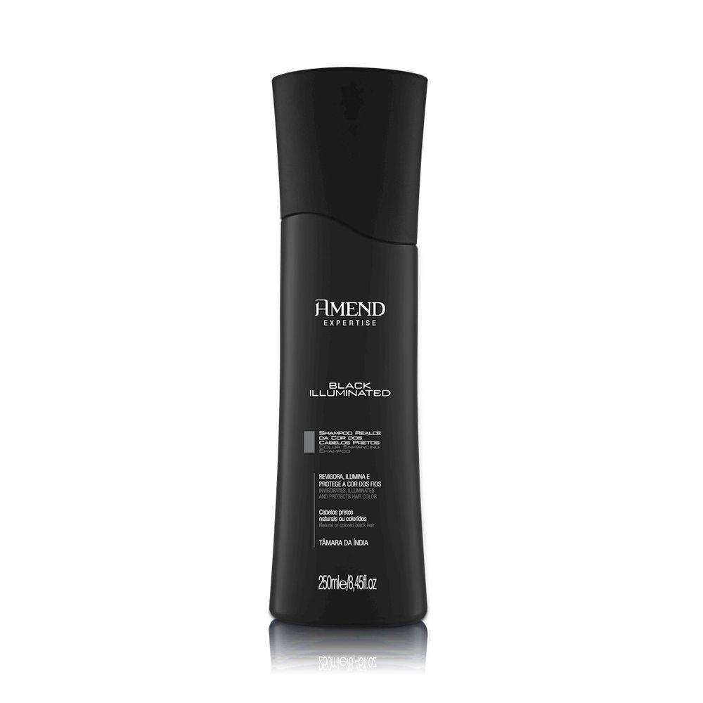 Amend Shampoo Expertise Black Illuminated 250mL