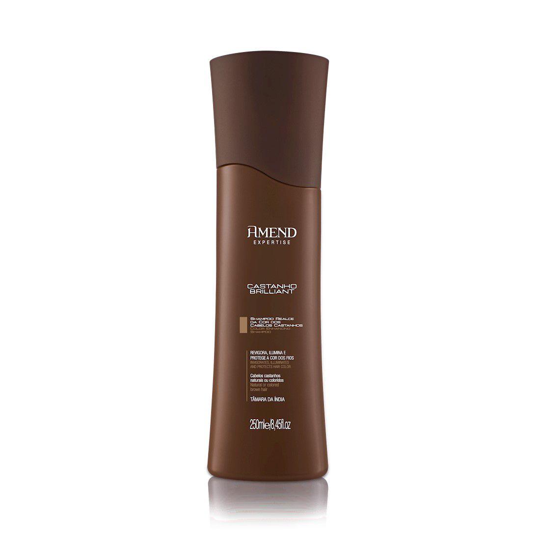 Amend Shampoo Expertise Castanho Brilliant 250mL