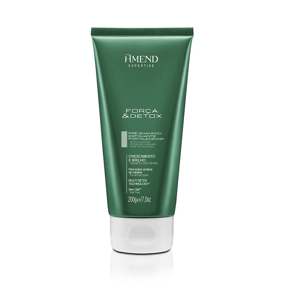Amend Shampoo Expertise Força e Detox 200g