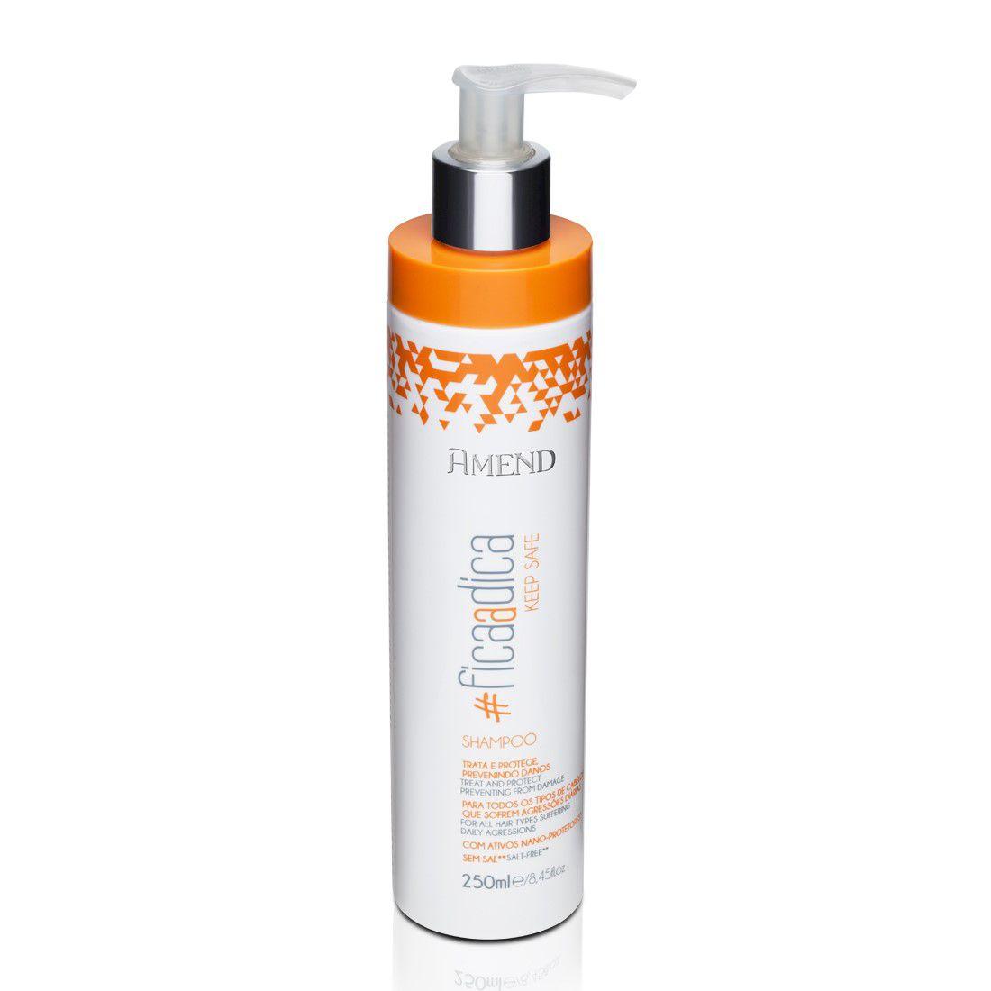 Amend Shampoo #FicaADica Keep Safe 250mL