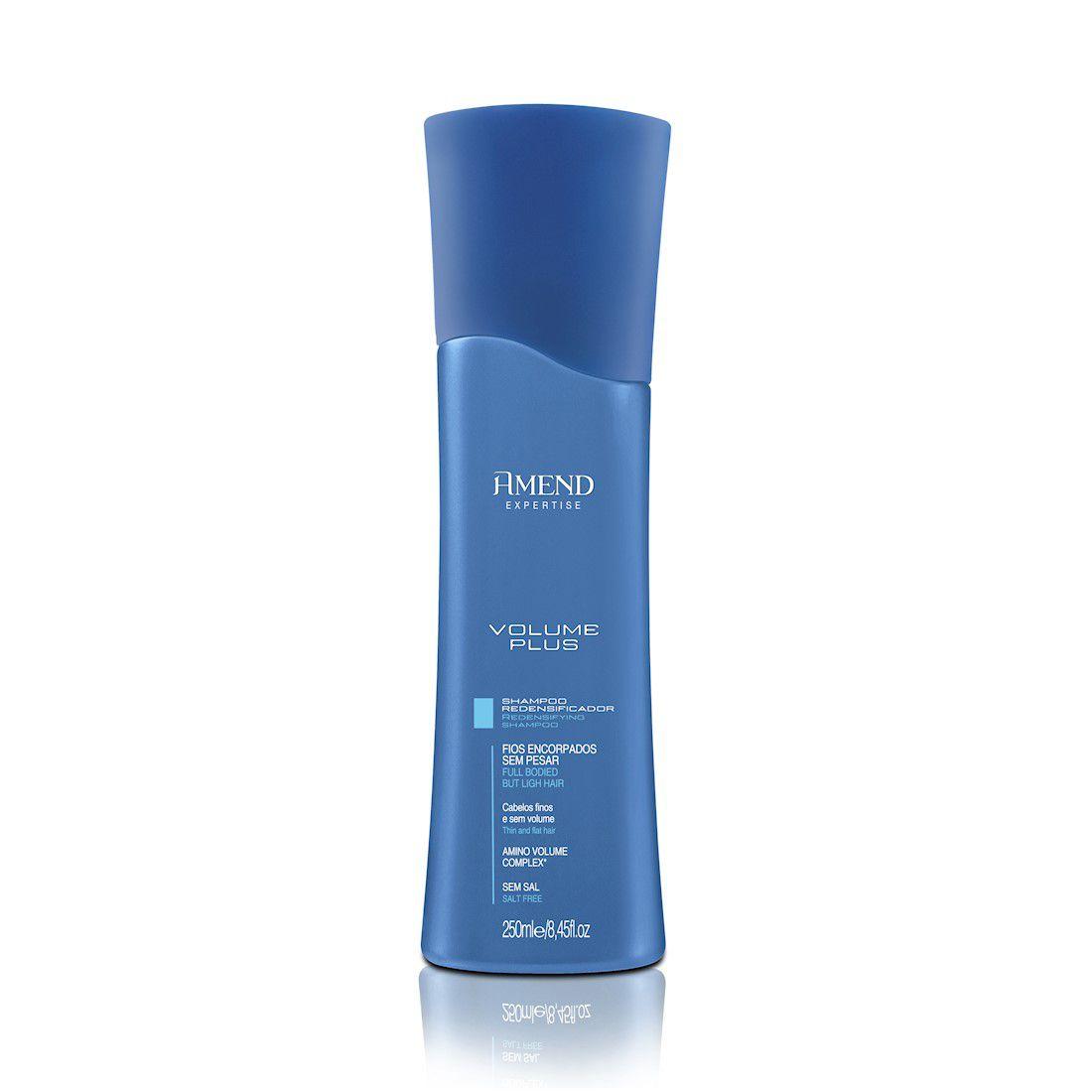 Amend Shampoo Treatment Expertise Volume Plus 250mL