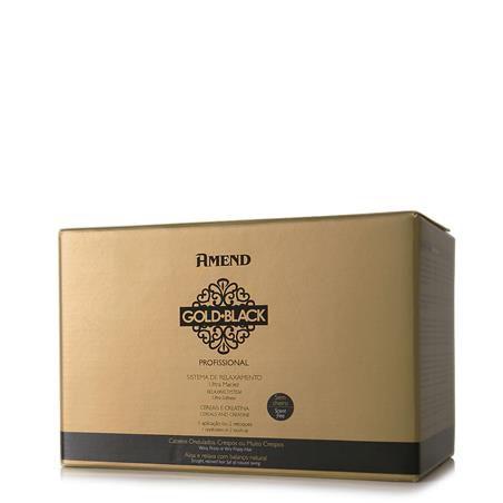 Amend Sistema de Relaxamento Gold Black Professional 1 Aplicação
