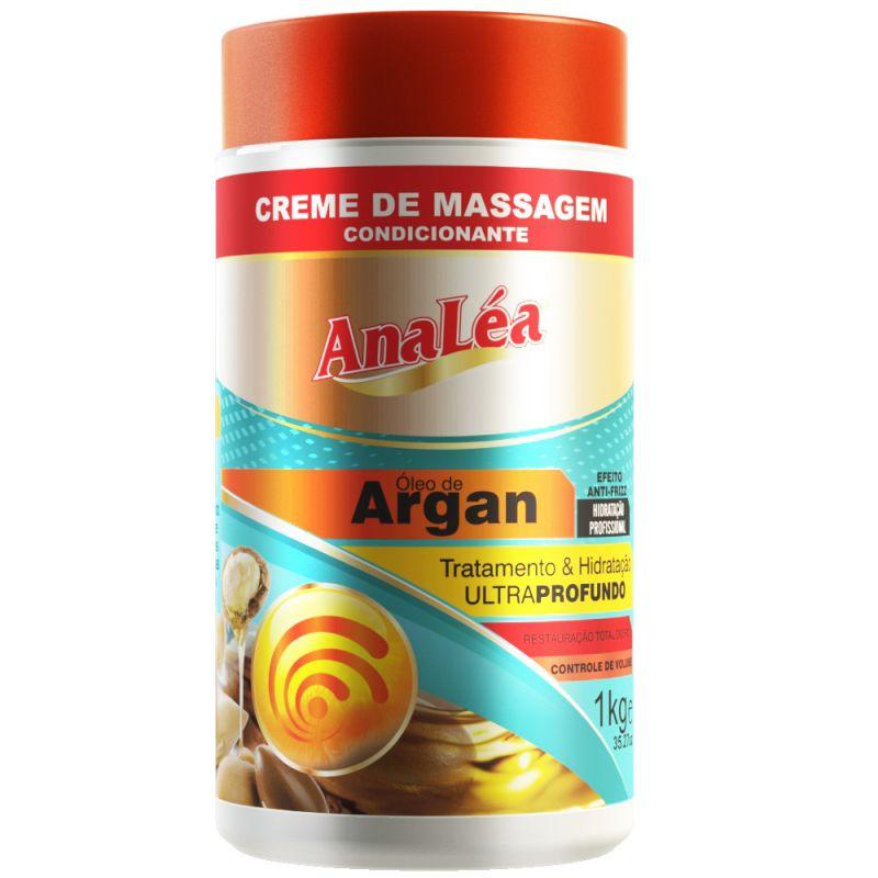 Analea Creme Condicionante de Óleo de Argan 1000g