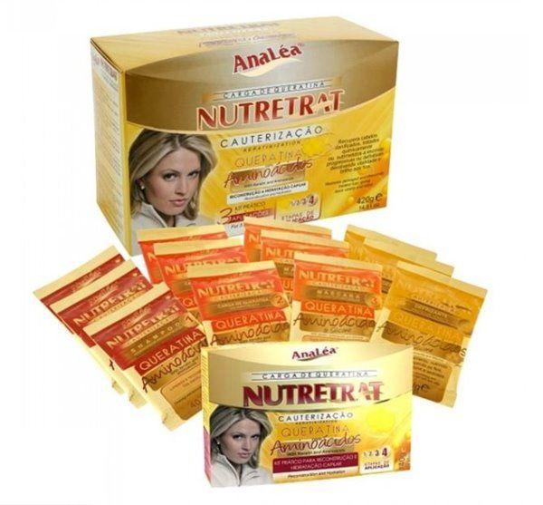 Analea Kit de Cauterização Carga de Queratina Nutretrat 420g