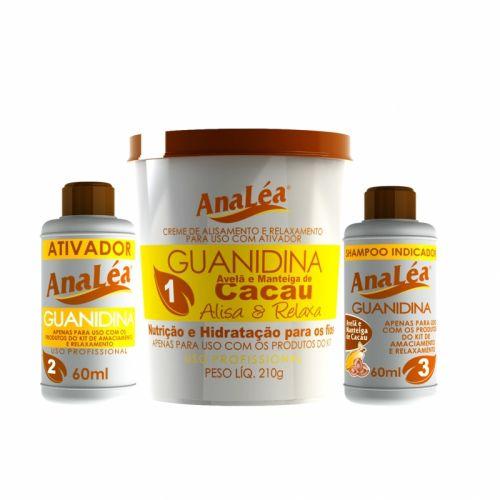 AnaLéa Kit Guanidina Avelã e Cacau