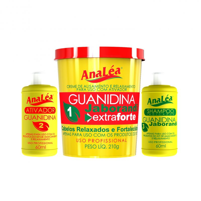 AnaLéa Kit Guanidina Jaborandi Extra Forte