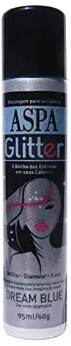 Aspa Glitter para Cabelo Dream Blue 95mL