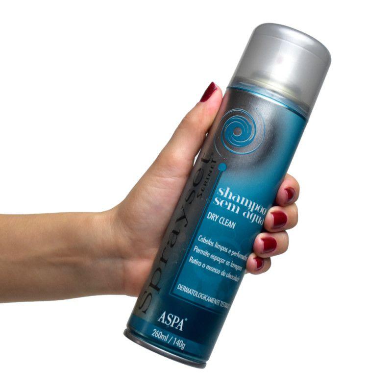 Aspa Shampoo a Seco Sprayset Dry Clean 260mL