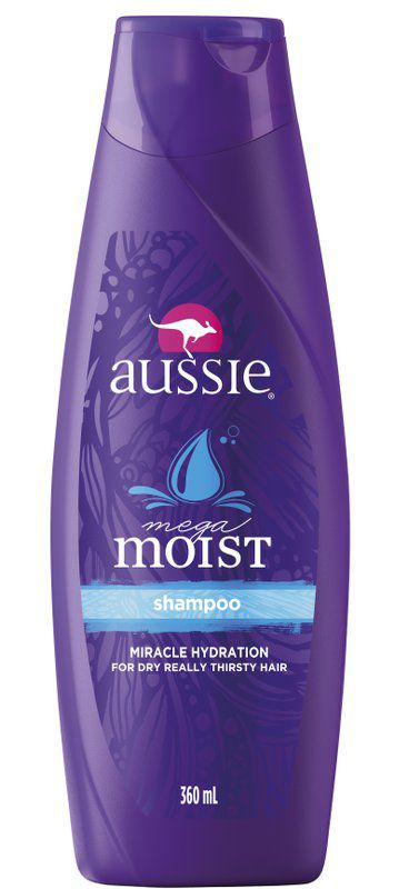 Aussie Shampoo Mega Moist 360 Ml