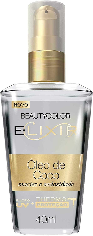 Beauty Color Elixir Nutrição Óleo de Coco 40mL
