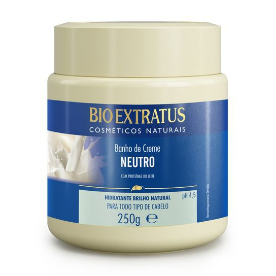 Bio Extratus Banho de Creme Neutro Perolado - Proteínas do Leite 250g