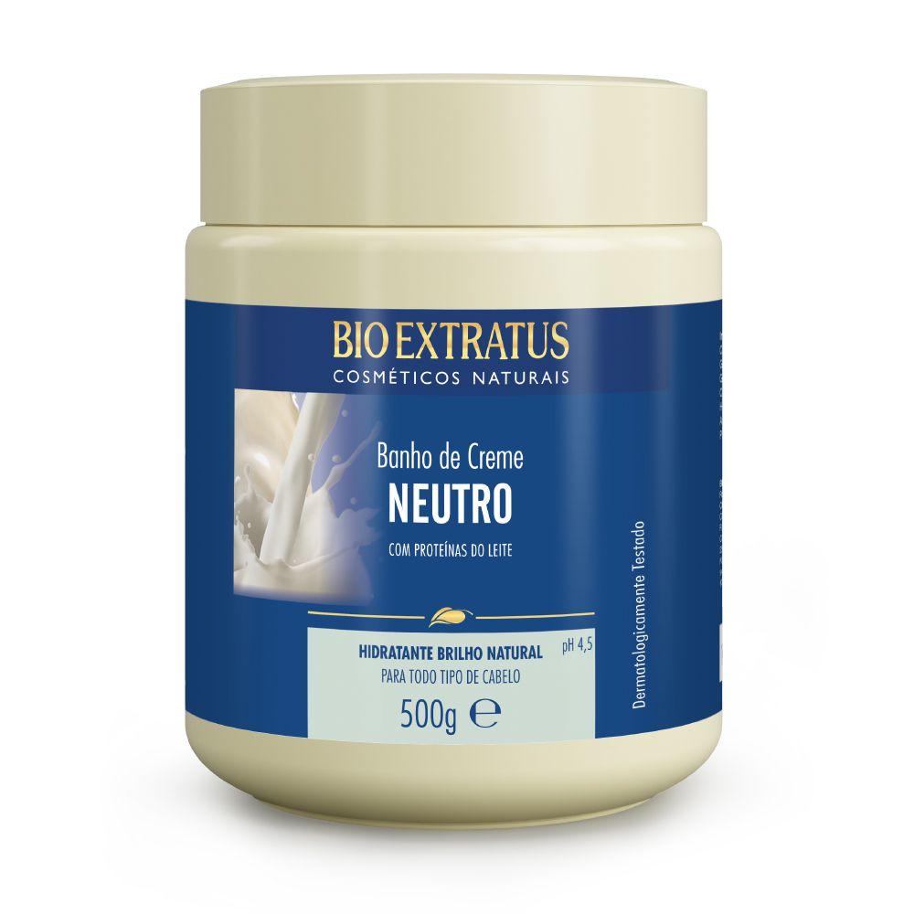 Bio Extratus Banho de Creme Neutro Perolado - Proteínas do Leite 500g
