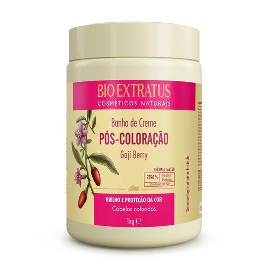 Bio Extratus Banho de Creme Pós Coloração Goji Berry 1000g