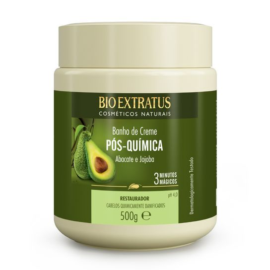 Bio Extratus Banho de Creme Pós Química 500g