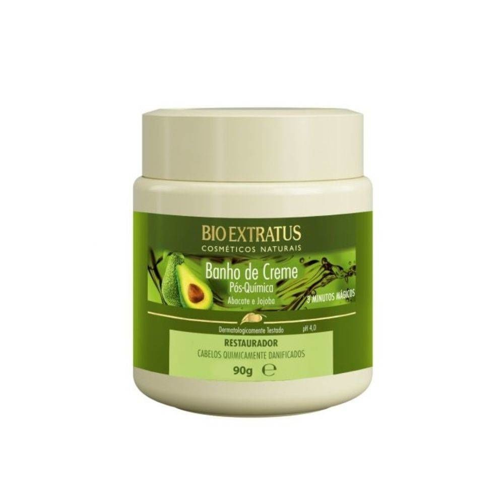 Bio Extratus Banho de Creme Pós Química 90g