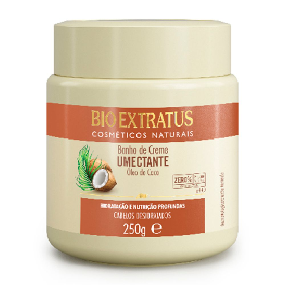 Bio Extratus Banho de Creme Umectante Coco 250g