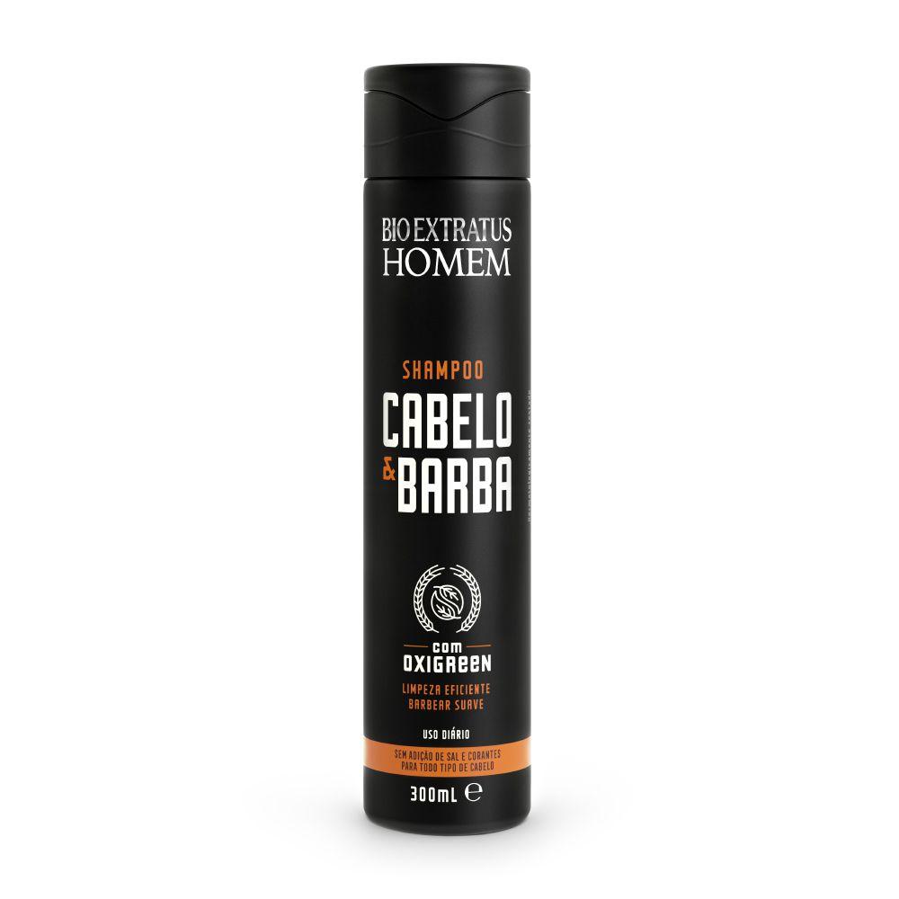 Bio Extratus Homem Shampoo Cabelo e Barba 300mL