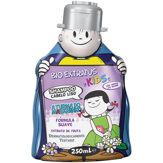 Bio Extratus Kids Shampoo Liso 250mL