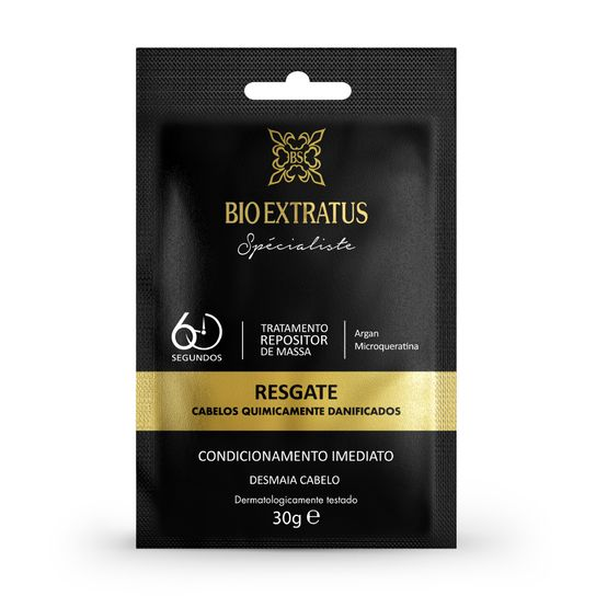 Bio Extratus Sachê de Tratamento Resgate 30g