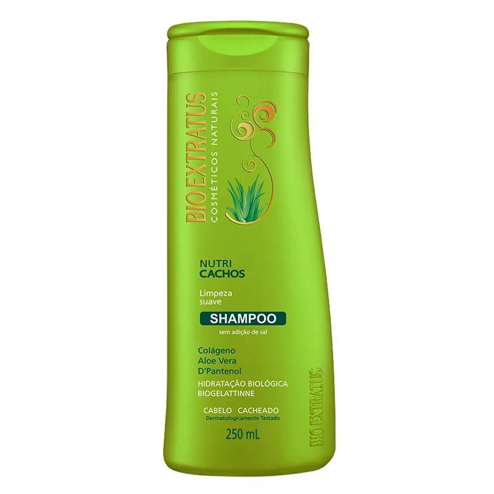 Bio Extratus Shampoo Biogelatine Nutri Cachos 250mL