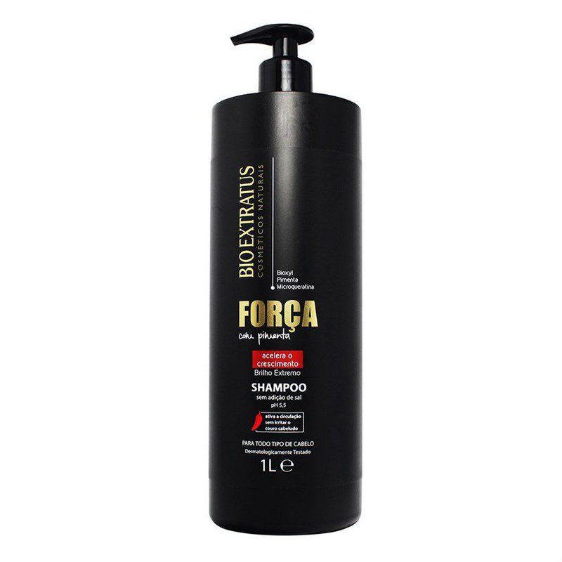 Bio Extratus Shampoo Força com Pimenta 1L