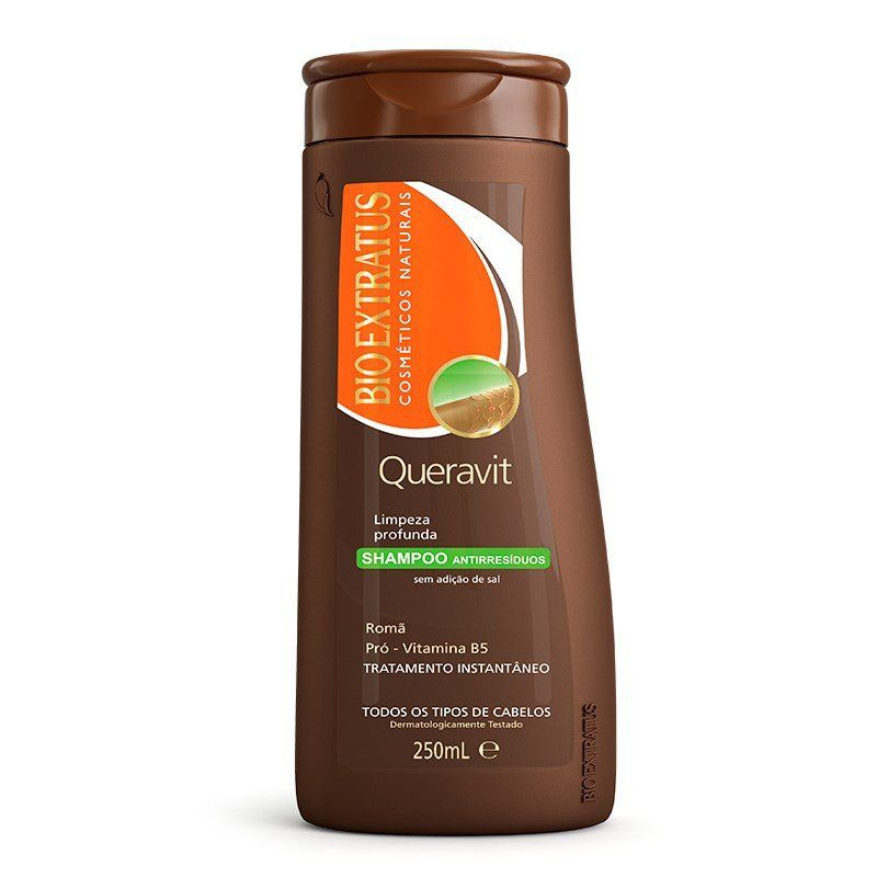 Bio Extratus Shampoo Queravit Antirresíduos 250mL