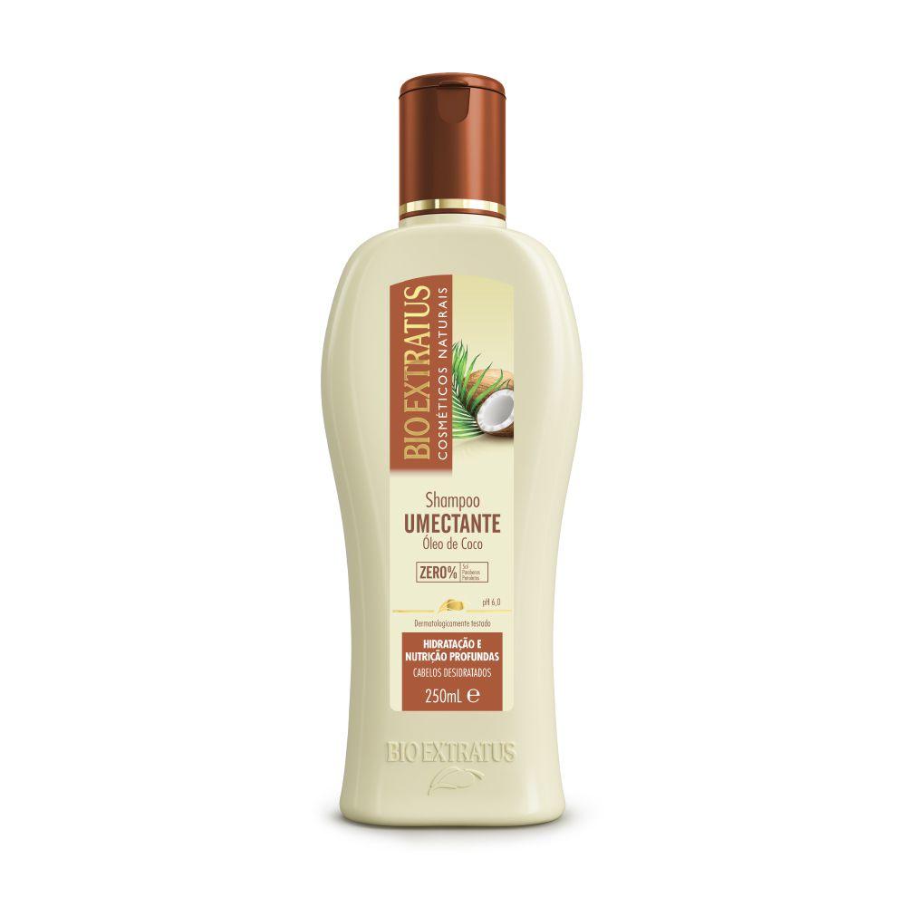 Bio Extratus Shampoo Umectante Óleo de Coco 250mL