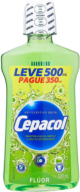 Cepacol Enxaguante Bucal Flúor 500mL