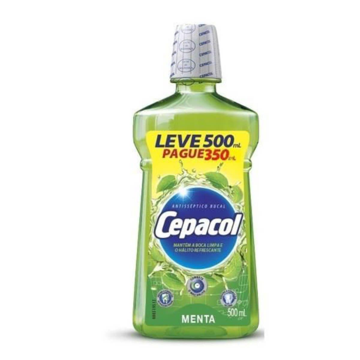 Cepacol Enxaguante Bucal Menta 500mL