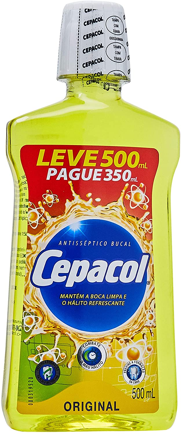 Cepacol Enxaguante Bucal Original 500mL
