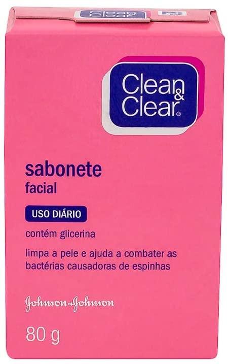 Clean & Clear Sabonete Facial Facial 80g