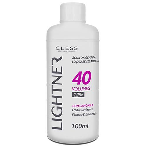 Cless Água Oxigenada Lightner 40 Volumes 100mL