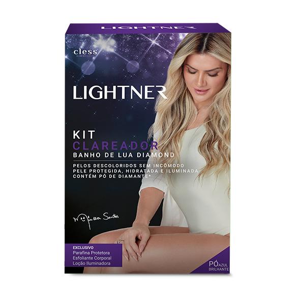 Cless Kit Clareador Lightner Banho de Lua Diamond 149g