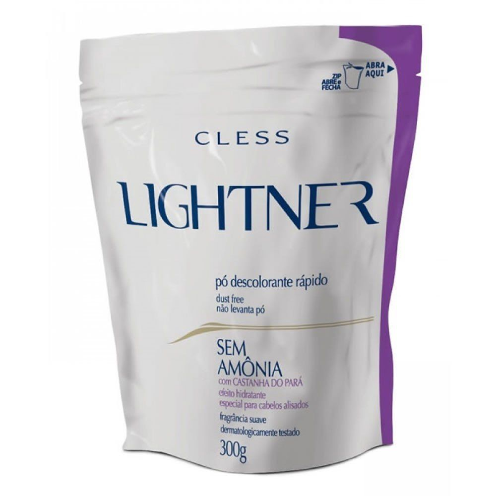 Cless Pó Descolorante Lightner Ametista Refil 300g