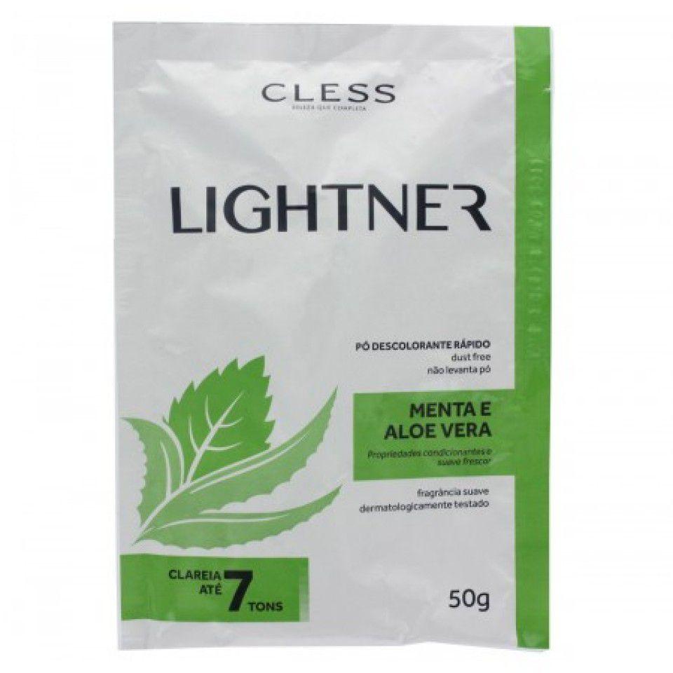 Cless Pó Descolorante Lightner Menta 50g