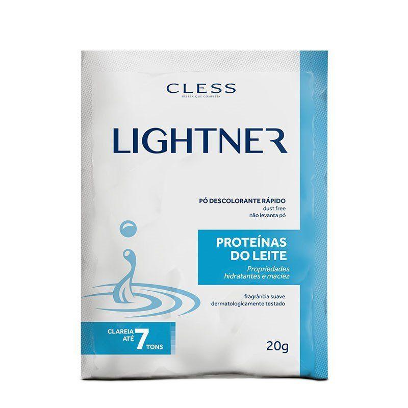 Cless Pó Descolorante Lightner Proteínas do Leite 20g