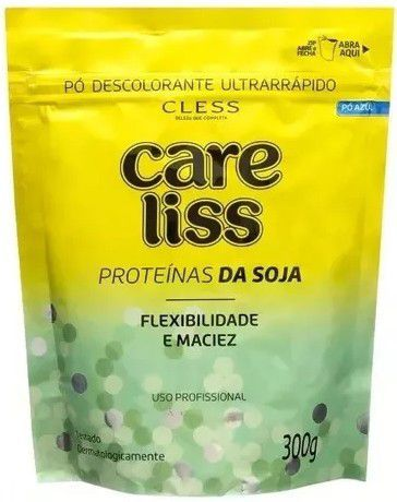 Cless Pó Descolorante Liss Argan Refil 300g