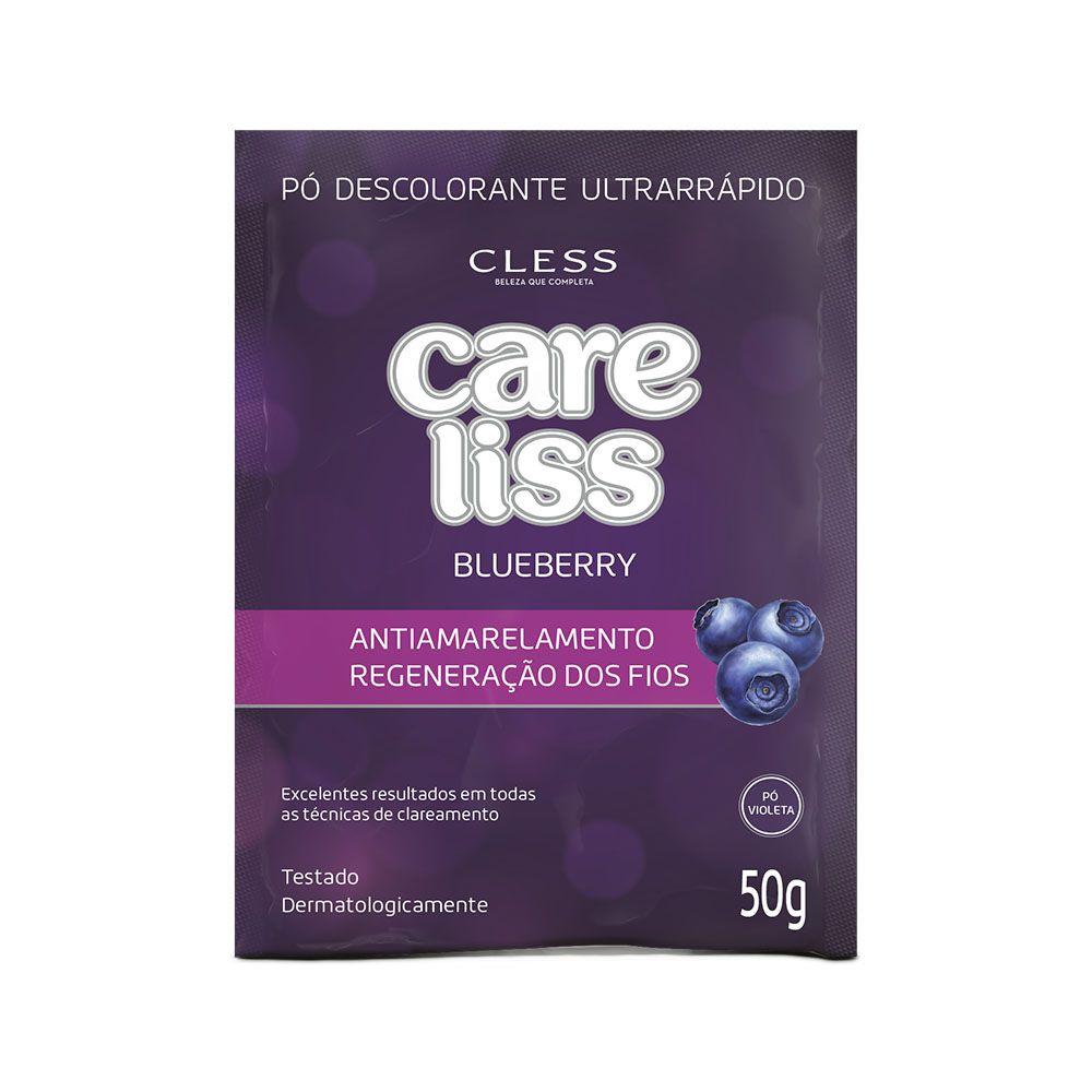 Cless Pó Descolorante Liss Blueberry 20g