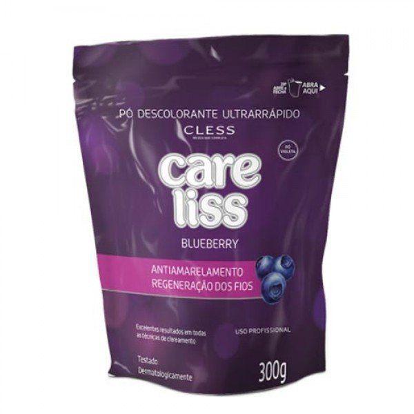 Cless Pó Descolorante Liss Blueberry 300g