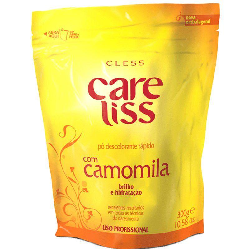 Cless Pó Descolorante Liss Refil Camomila 300g
