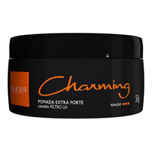 Cless Pomada Charming Black Extra Forte 140g