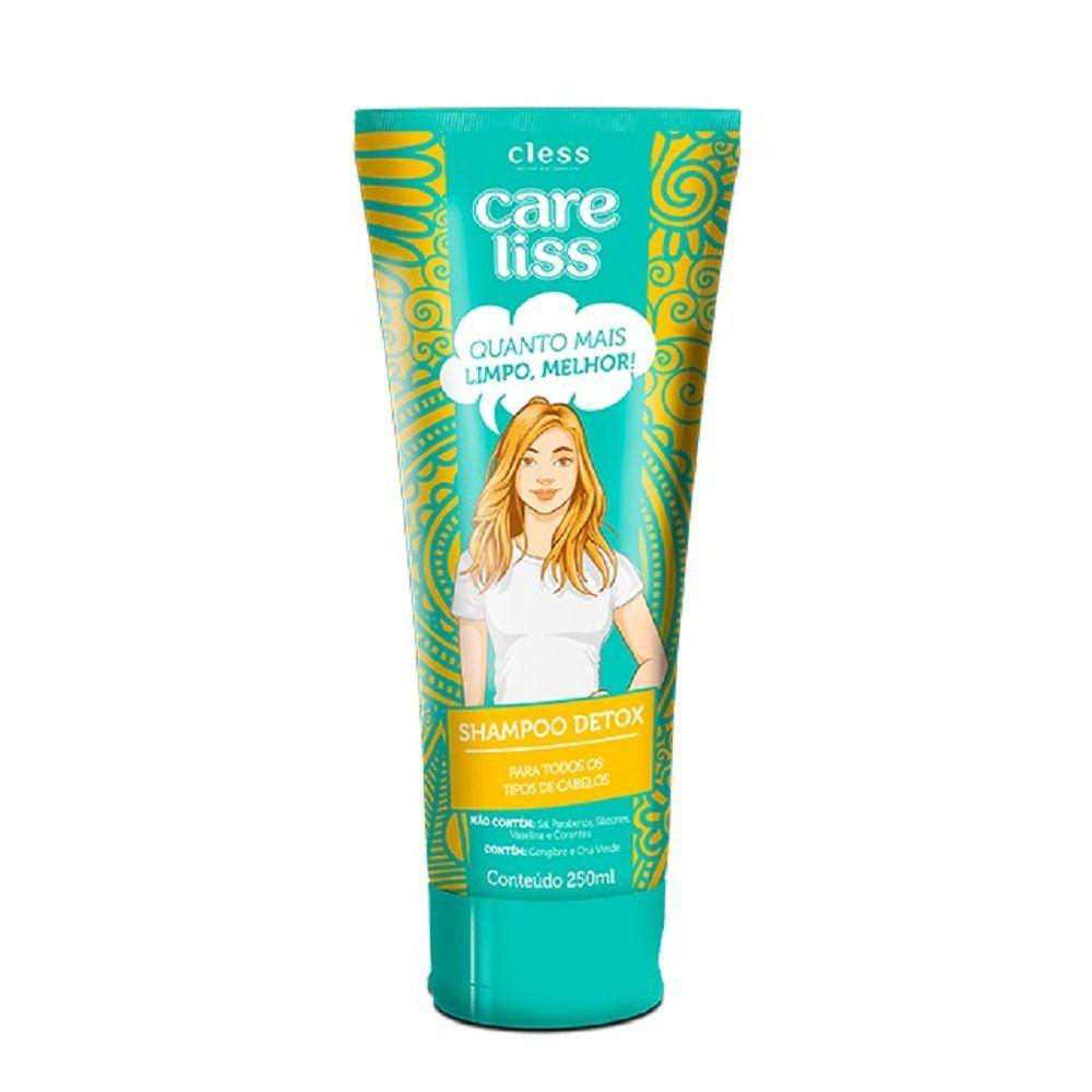 Cless Shampoo Care Liss Detox 250mL