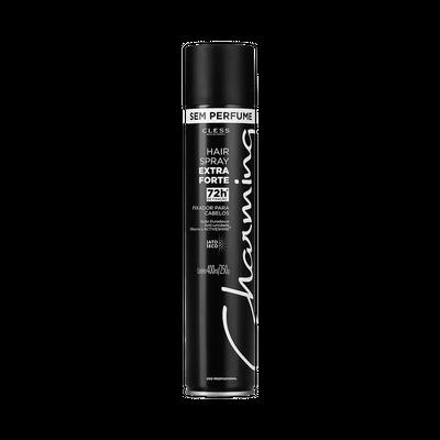 Cless Spray Fixador Charming Extra Forte Sem Perfume 400mL