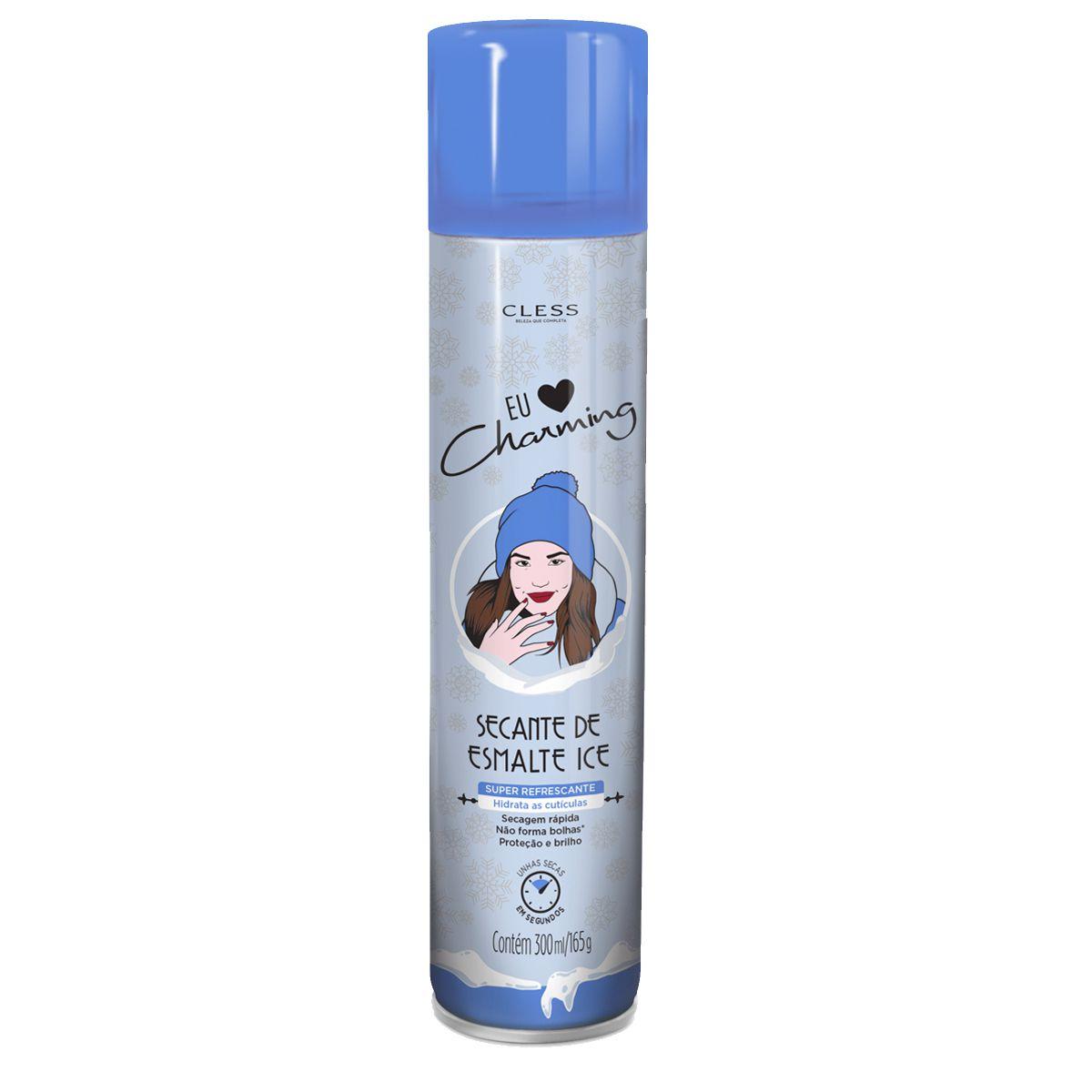Cless Spray Secante de Esmalte Care Liss Ice 400mL